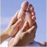 massagem relaxante nos pés Santa Efigênia