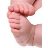 podólogo para bebê preço Praça da Arvore